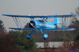 WACO YMF-5D双翼飞机