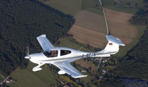 国产飞机的钻石DA40
