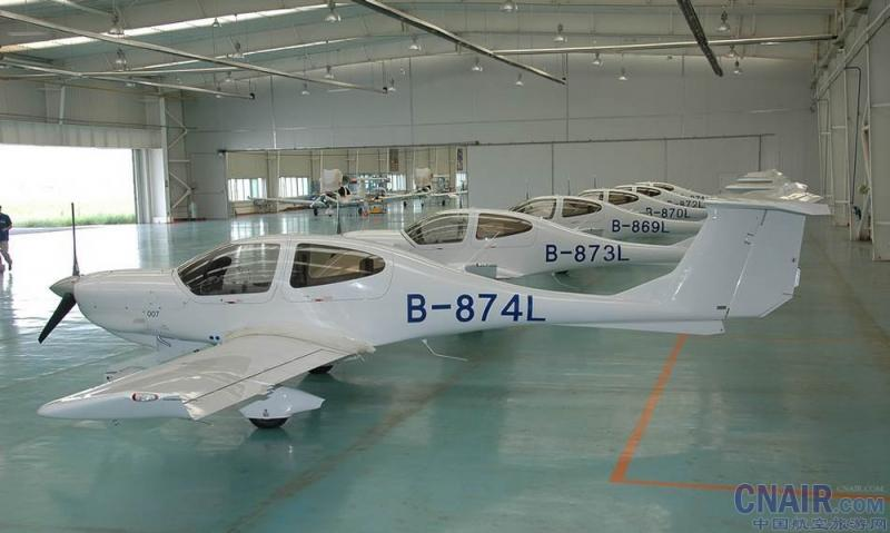 国产飞机的钻石da40 - 机型图片 - 舱位分布 - 中国